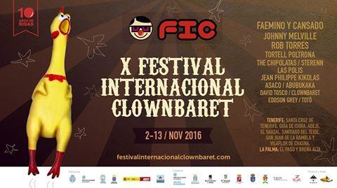 X Festival Internacional Clownbaret _ FIC