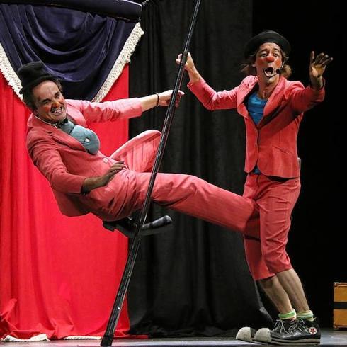 Payasos clásicos para cerrar el Festival de Clown y Circo